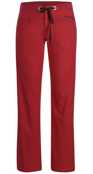 Black Diamond W's Credo Pants Rose Red